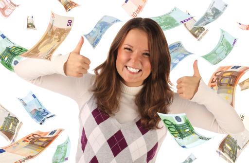 Geld lenen zonder inkomen als je rood staat